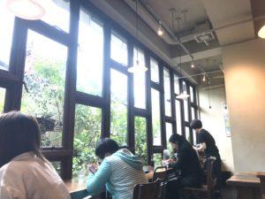 ムモクテキカフェ 店内