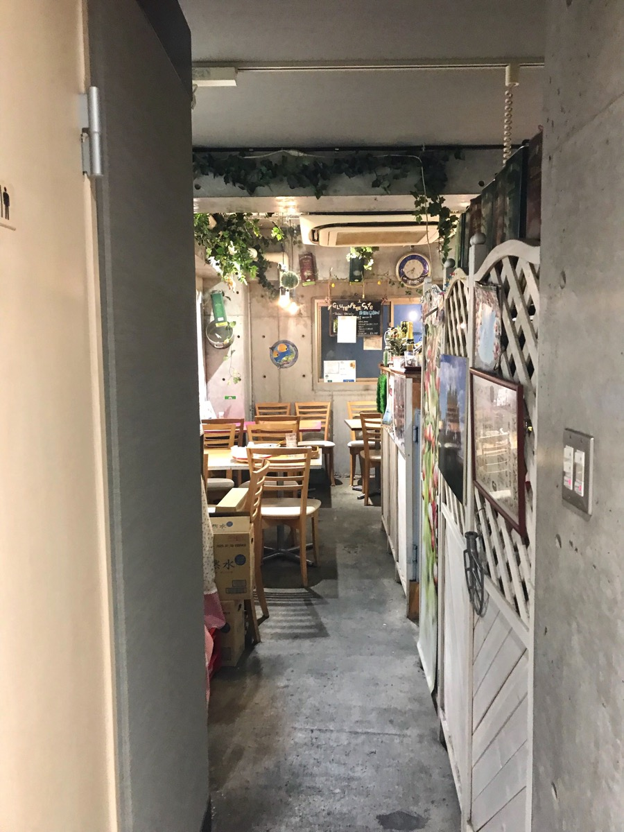 グルテンフリーカフェ リトルバード 店内