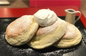 裏参道ガーデンのグルテンフリー米粉パンケーキ
