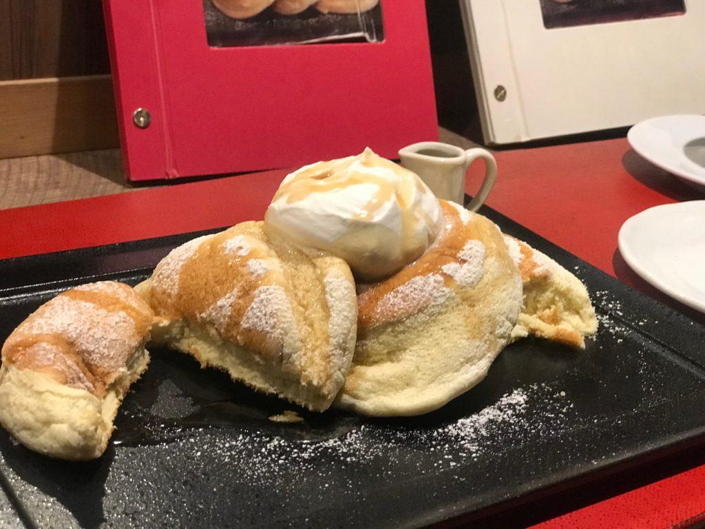 リズラボキッチンの米粉パンケーキ
