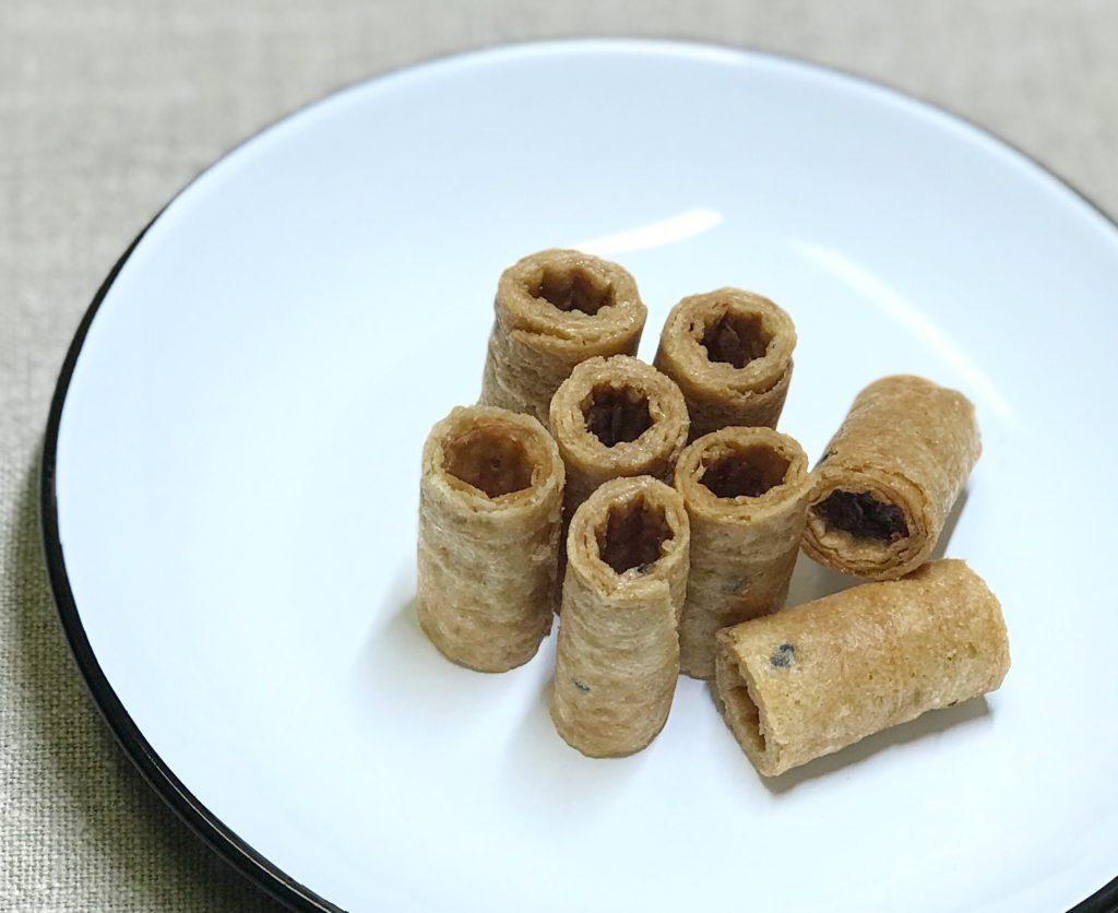 グルテンフリー トンムアン ココナッツロールクッキー