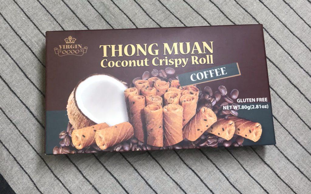 トンムアン coconut crispy roll コーヒー味