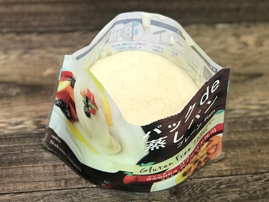 パック de 蒸しパンのプレーン