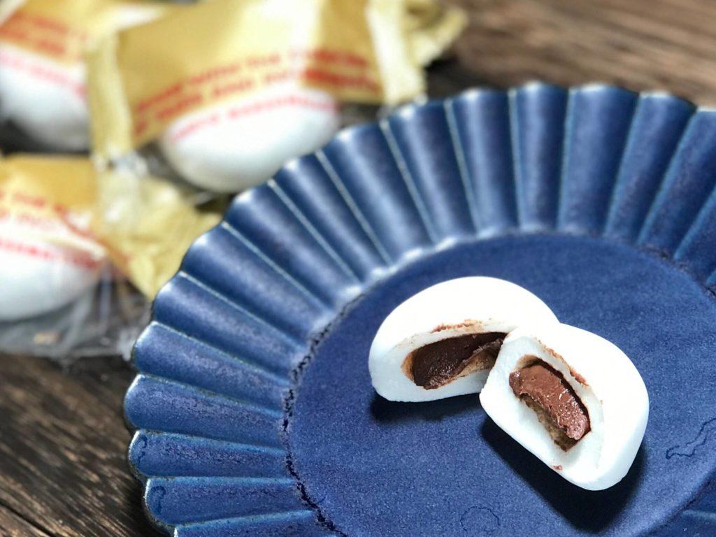 石村萬盛堂のチョコマシュマロ