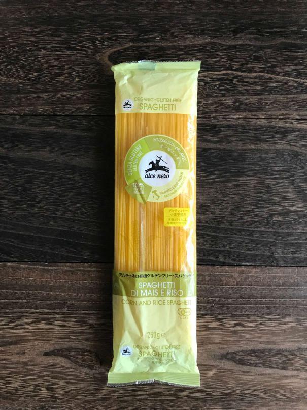 アルチェネロ有機グルテンフリースパゲティ