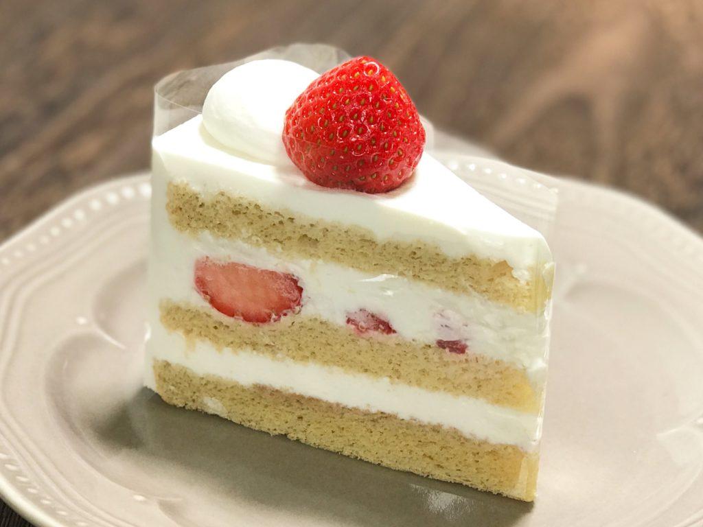 ライラックのいちごのショートケーキ