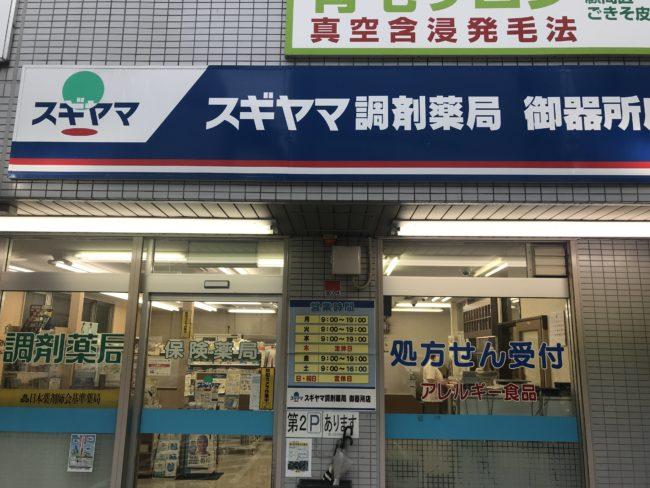 スギヤマ調剤薬局 御器所アレルギー店