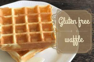 glutenfree waffle
