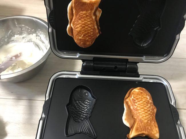 ビタントニオでグルテンフリーのたい焼き