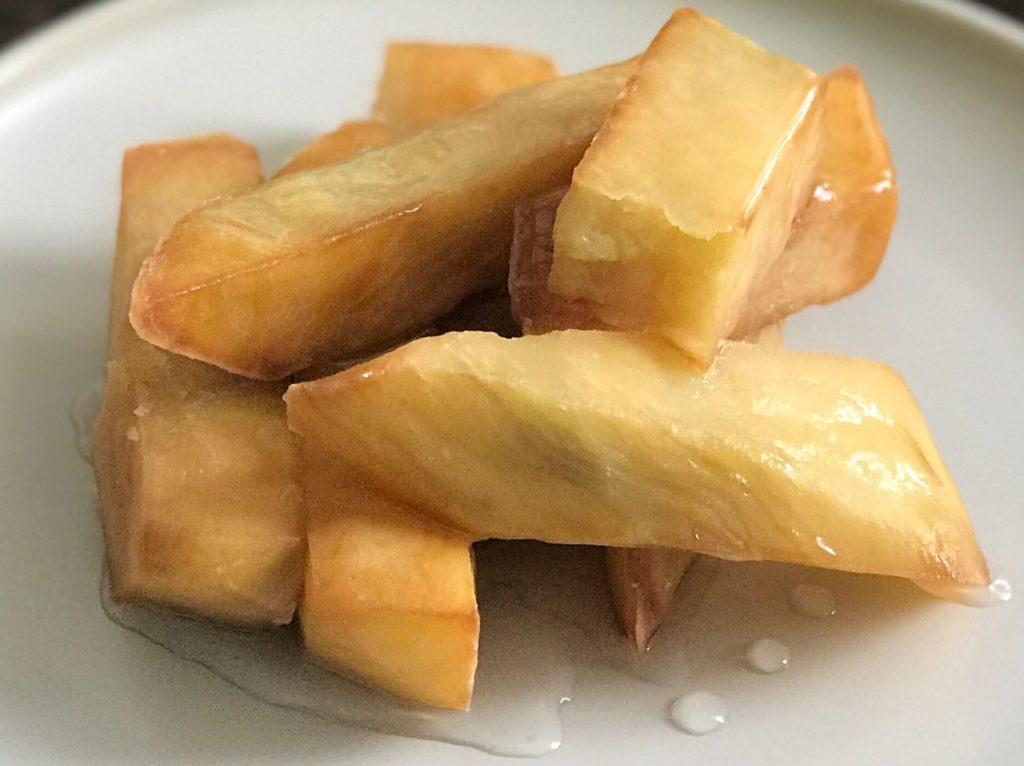 特製の蜜をかけた【あべのポテト】