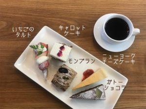 ケーキ5種類盛り