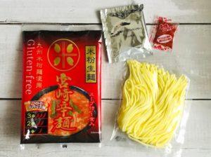 川北製麺のグルテンフリー宮崎辛麺