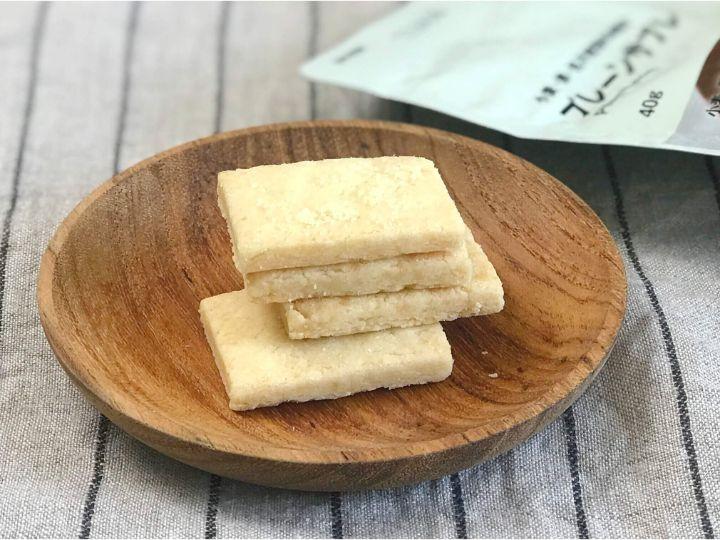 無印良品「小麦・卵・乳不使用のお菓子」プレーンサブレ