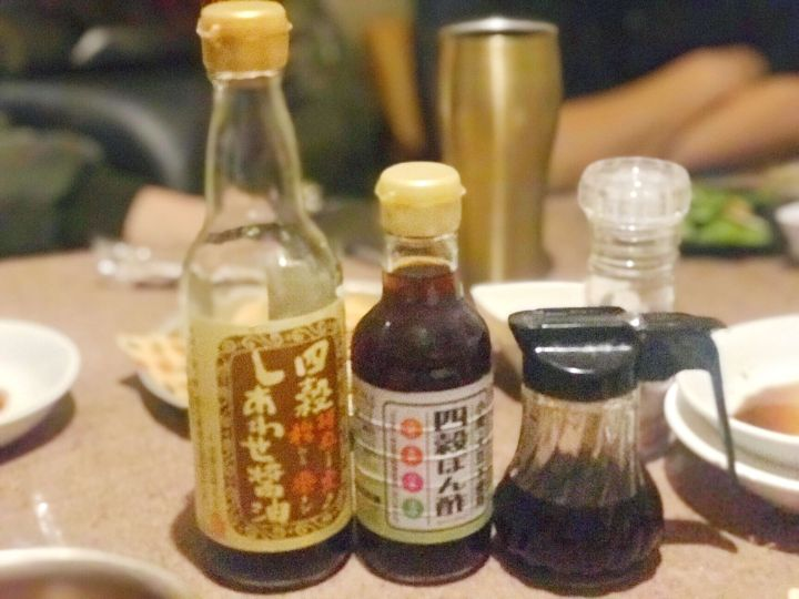 串カツ酒場天満店でグルテンフリー調味料